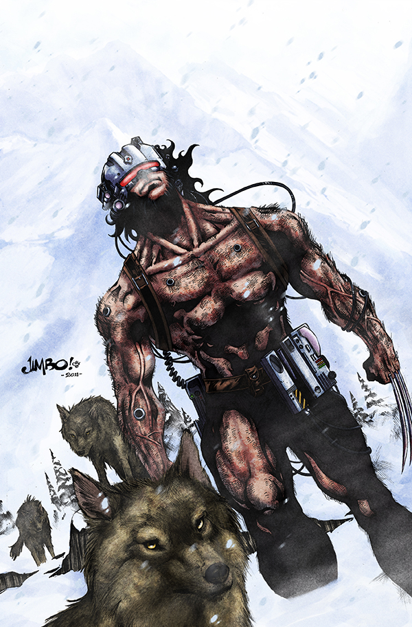 Wolverine Weapon X by logicfun