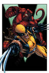 Hellboy and Wolverine