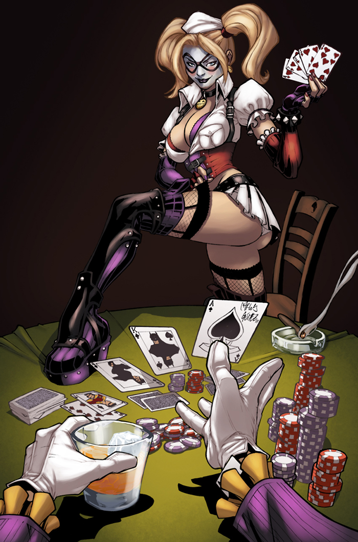 Harley Quinn strip by logicfun