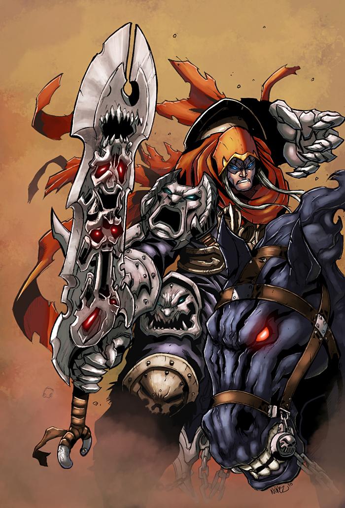 Darksiders color by logicfun