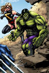 Hulk and Miss Marvel