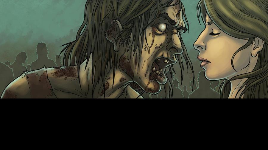 Zombie wall by logicfun