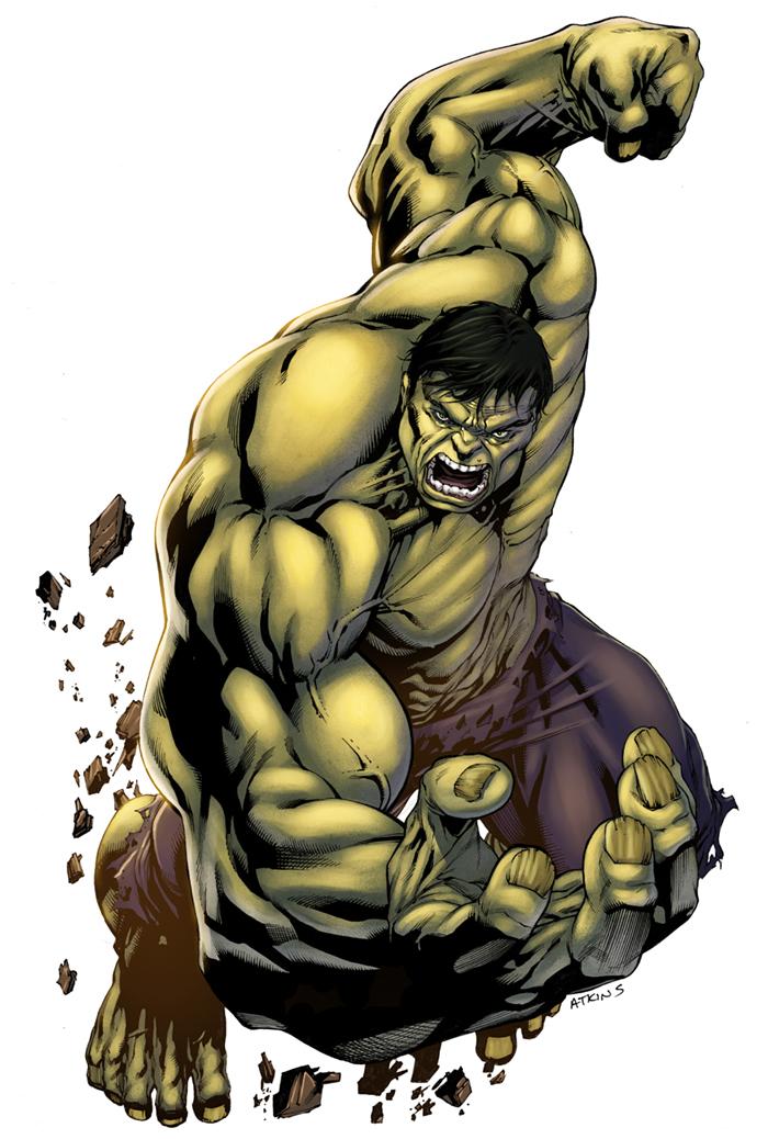 Incredible Hulk by logicfun