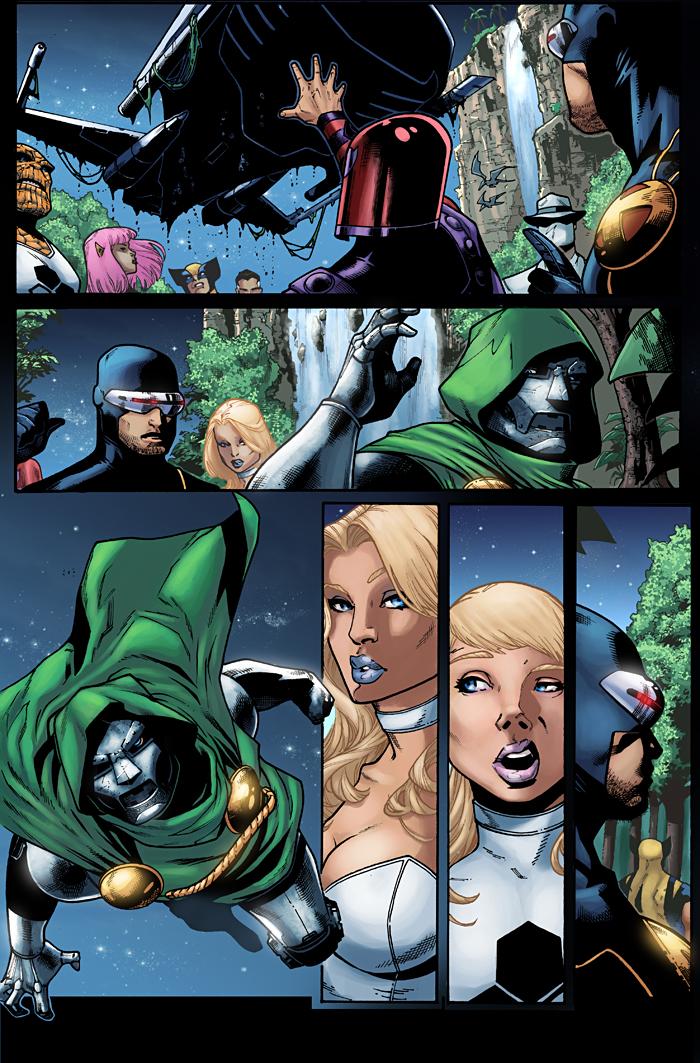 X-Men test page 3 by logicfun