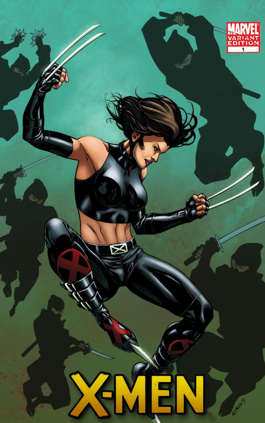 X-23 cover by logicfun