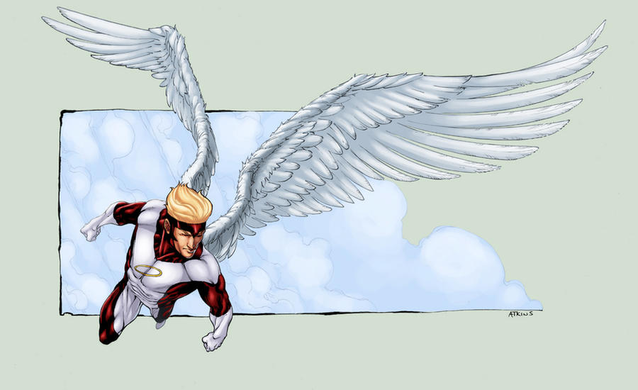X-Men Angel by logicfun
