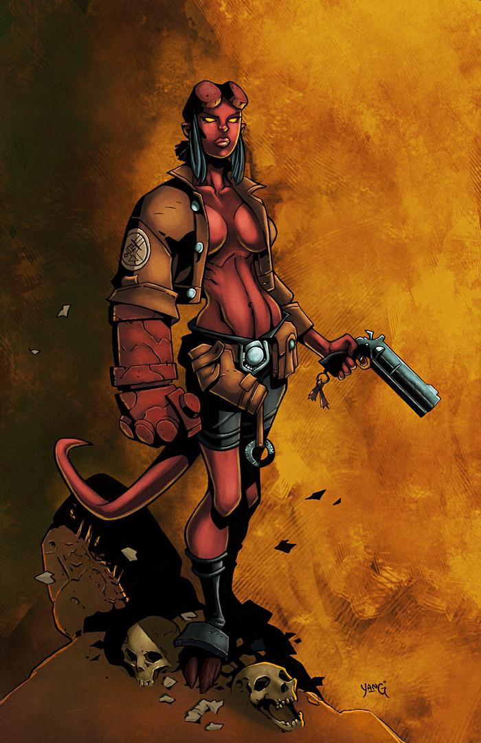 Hellgirl by logicfun