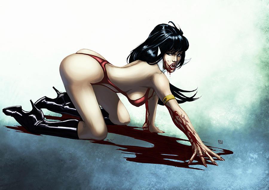 Vampirella by logicfun