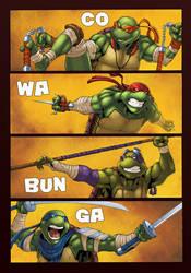 Ninja Turtles by logicfun