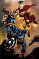 Avengers by logicfun