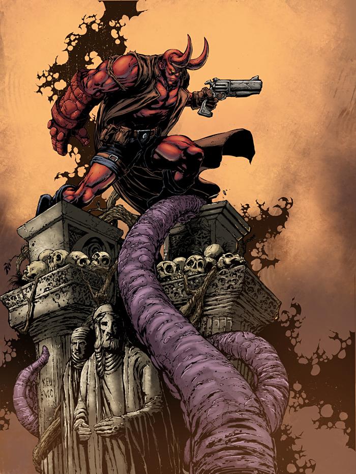 Hellboy by logicfun