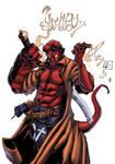 Hellboy smoke