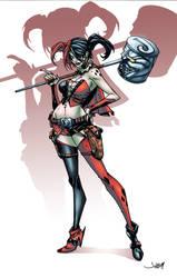Harley Quinn New 52 by logicfun