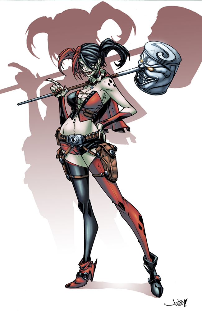 Harley Quinn New 52 by logicfun