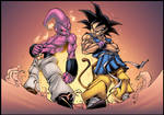 Buu VS Goku