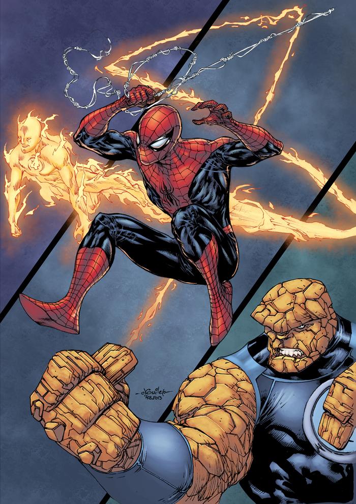 Spider Man Thursday 38 Color by logicfun