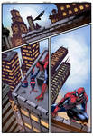 Spider-Man Page color