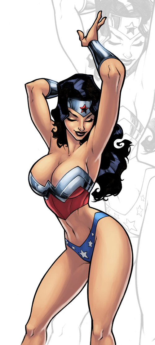 Wonder Woman Color by logicfun