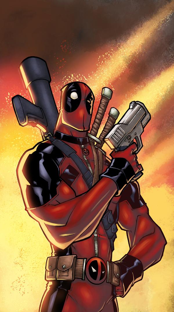 Deadpool Color by logicfun