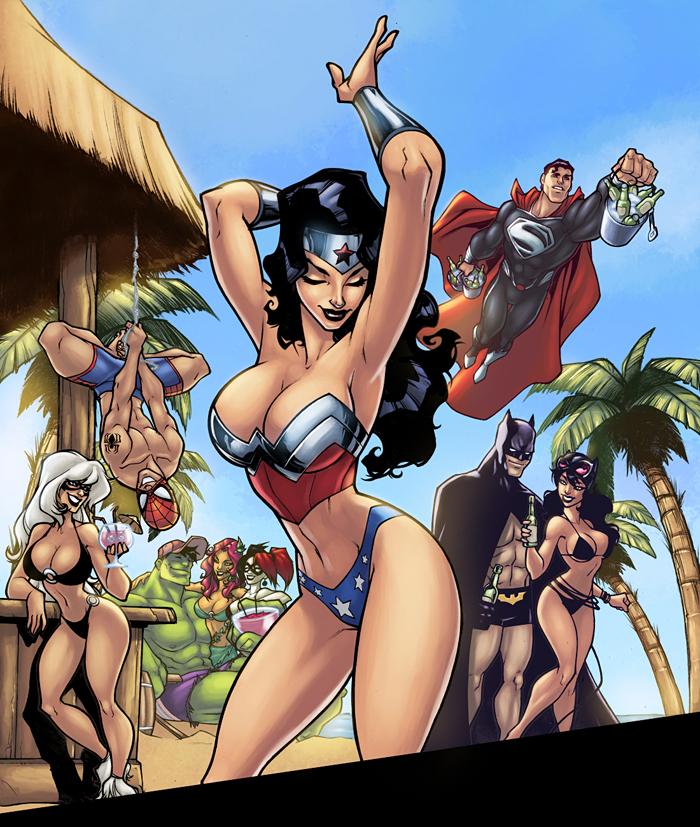 Superhero porn sex free