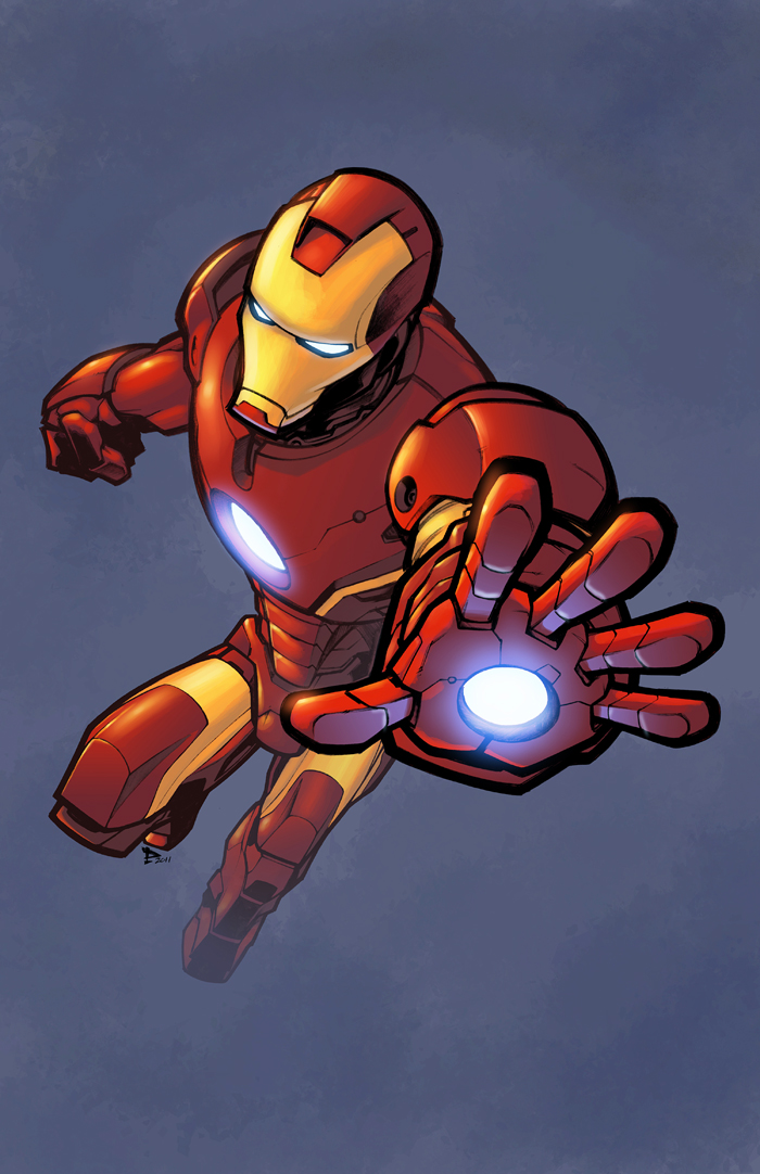 Iron Man color by logicfun