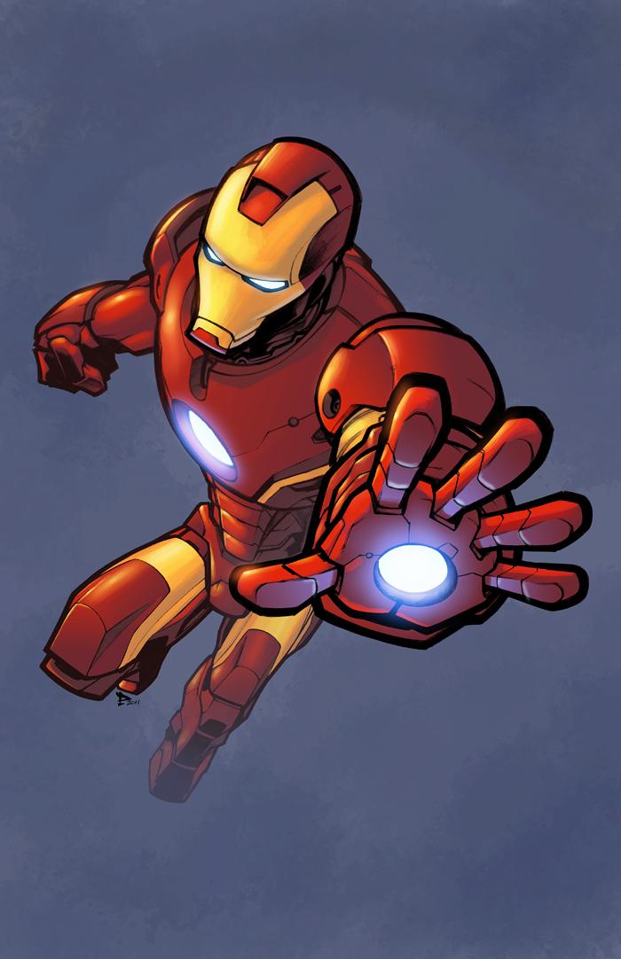 Iron Man color by logicfun