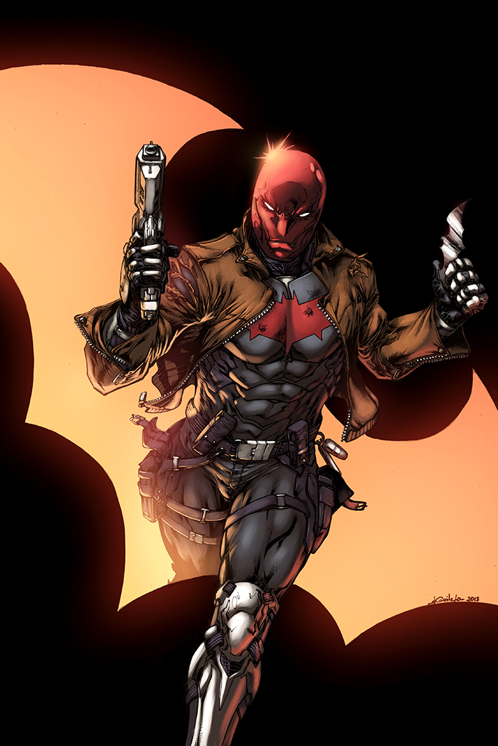 Red hood color by logicfun on deviantart - Hood cartoon wallpaper ...