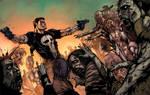 Frank Castle Vs The Walking Dead Color