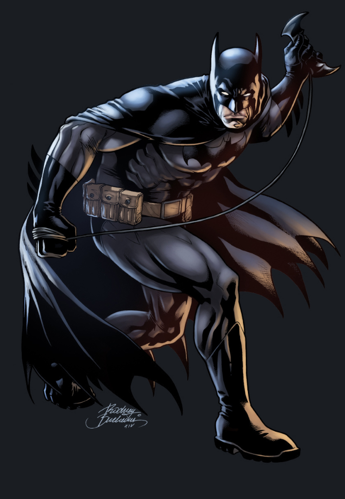 Batman Color by logicfun