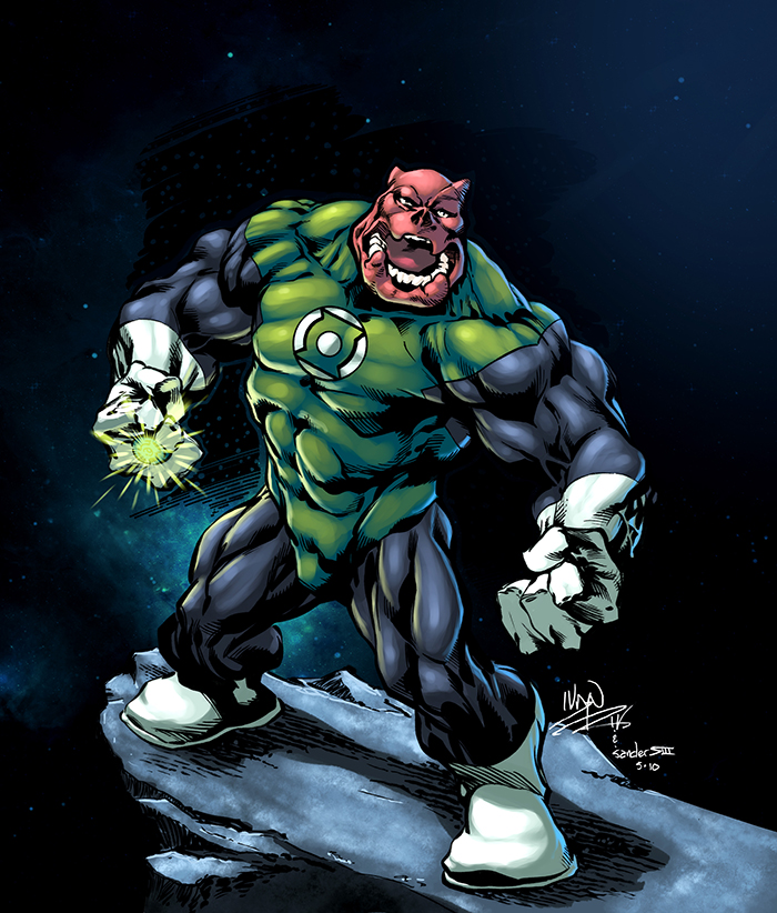 Reis  Kilowog color by logicfun