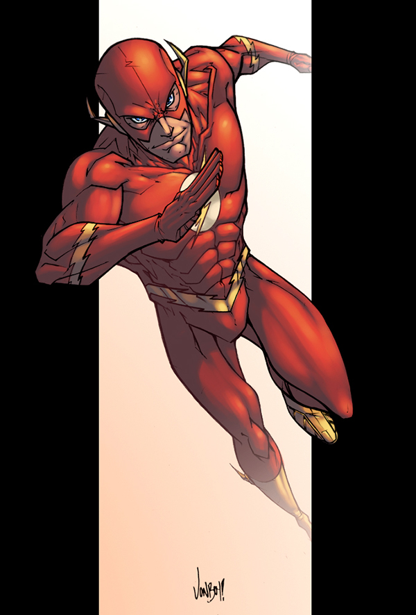 Flash Flash Baby color by logicfun