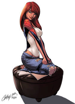 Mary Jane Watson Color