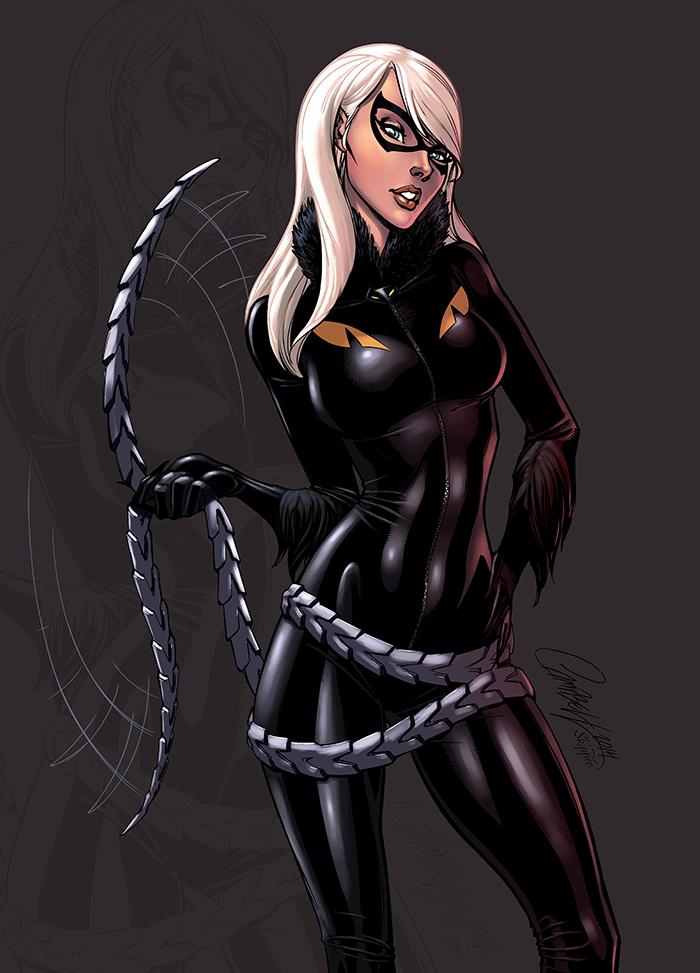 Black Cat Color by logicfun
