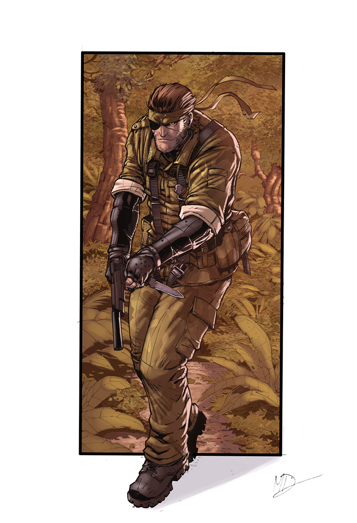Snake Mgs3 Color by logicfun