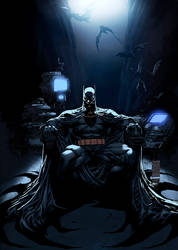 Batman Silvestri Color by logicfun