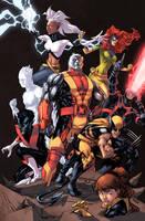 Extraordinary X-Men Color by logicfun