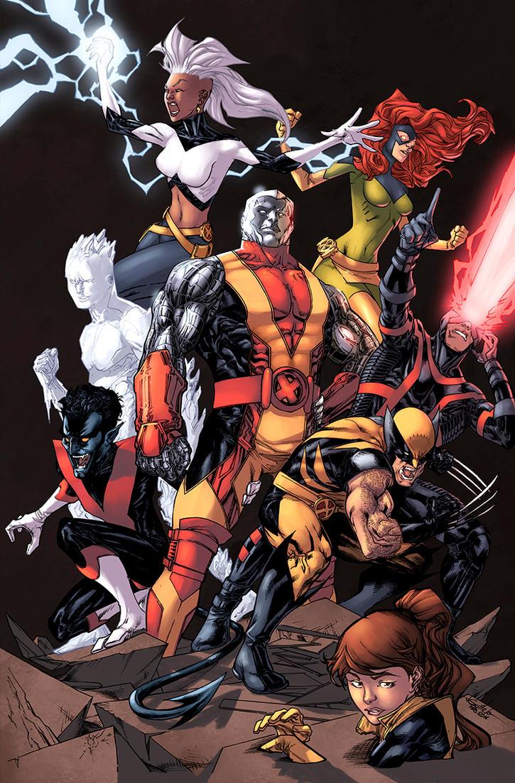 Extraordinary X-Men Color By Logicfun On Deviantart-6743