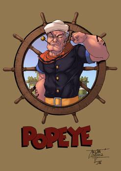 Popeye color