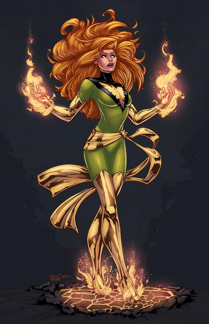 Phoenix  Color by logicfun
