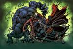 Venom Vs Spawn Color