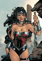 Wonder Woman New 52 Color by logicfun
