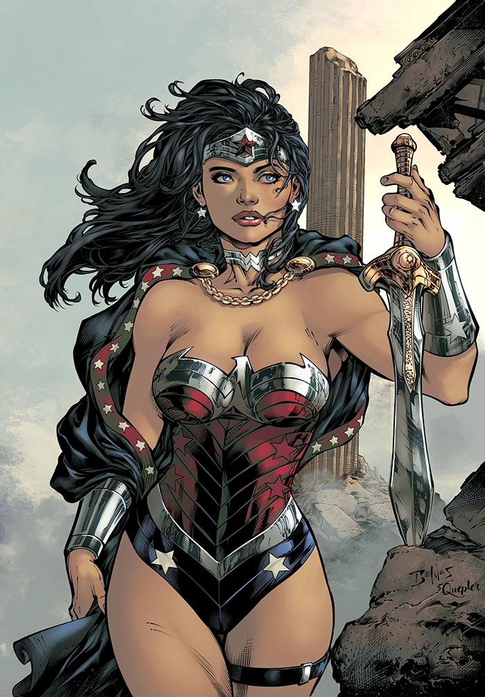 Wonder Woman New 52 Color by logicfun