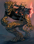 Groot and Rocket color