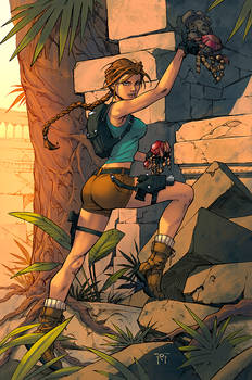 Lara Croft Color