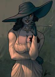 Lady Dimitrescu color