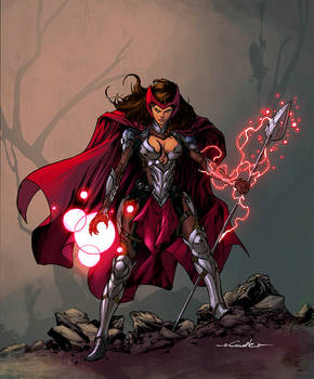 Medieval Scarlet Witch color