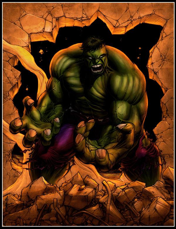 hulk by logicfun