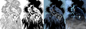 step by step batman
