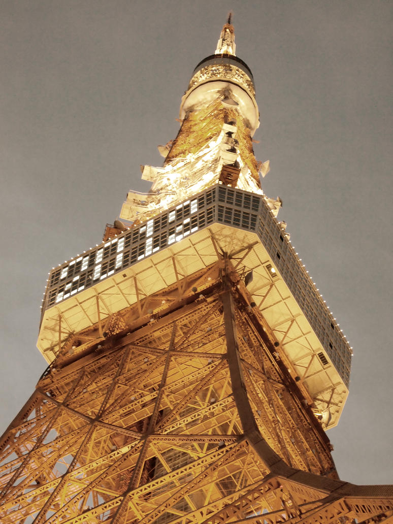 TokyoTower 2012 by Jack-Violet