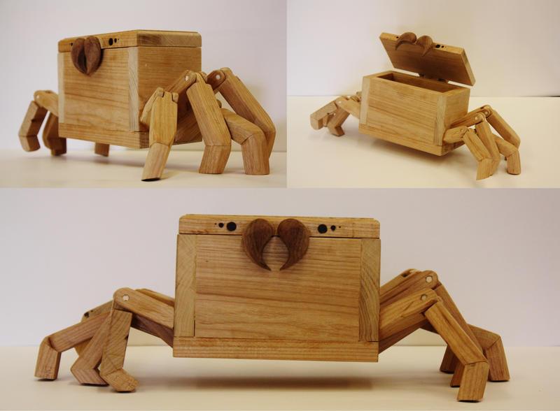 Spider-Box by IndigoFlames